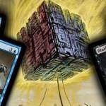 The Puzzle Box - Black & Tan & Blue