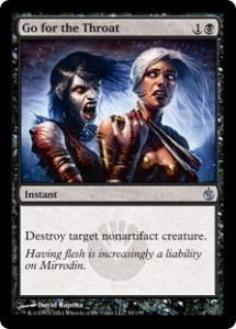 A good rule to follow in both life and EDH: Only murder things when you absolutely have to.