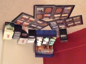 Our Standard collection: Khans block, Origins, Battle for Zendikar plus trade binders