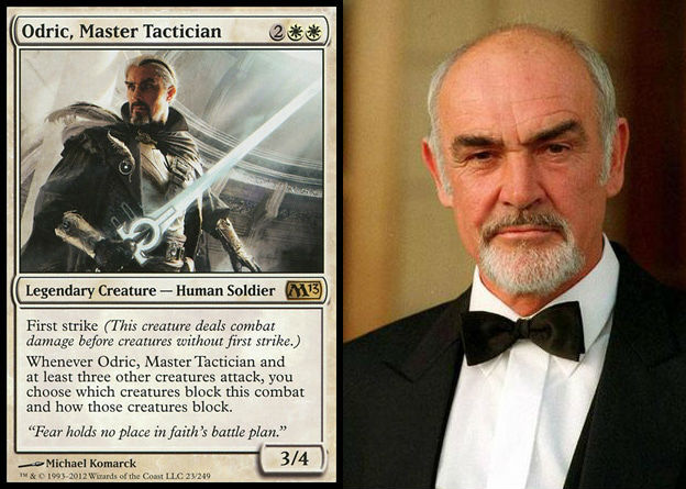 Look, there's nothing not cool about Sean Connery playing Odric holding a glowing sword, but the guy is like 100 now.